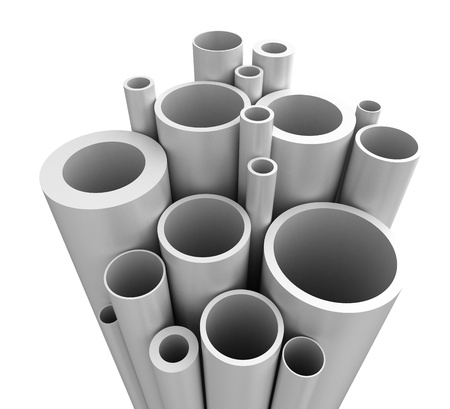 Plastic Pipes   Stock Photo - 14832881