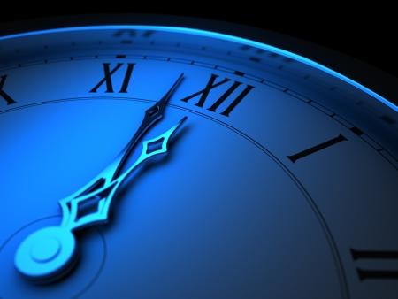 clock face: Last Minutes