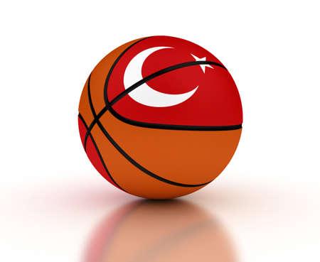 Turkish basketball national team Computer generated image