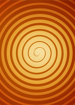 Orange Swirl Background  high resolution computer generated image  Stock Photo
