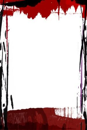 bordure de page: Haute r�solution peint bordure de page