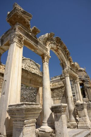 Temple of Hadrian Arch at Ephesus, Turkey Stock Photo - 17585562