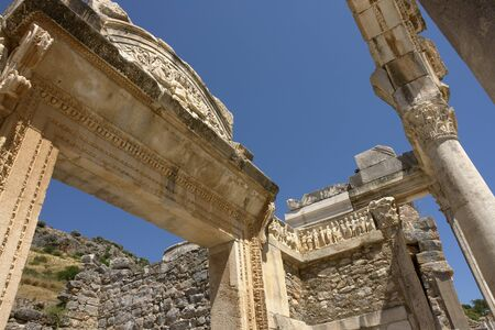 hadrian: Temple of Hadrian Arch at Ephesus, Turkey
