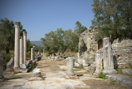 mugla: Ancient City of Iasos, Milas, Mugla, Turkey