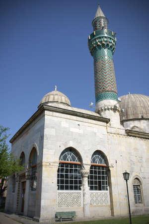 iznik: Historical Green Mosque at Iznik, Turkey