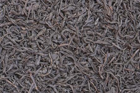 Tea leaf textures close up photo