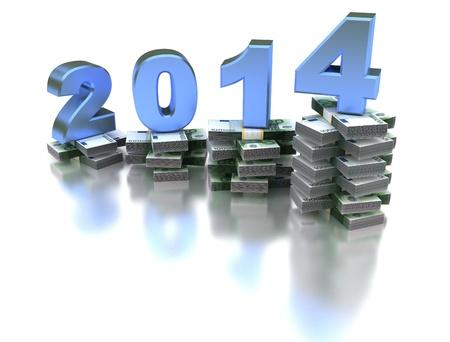 year increase: Growing Economy Euro 2014