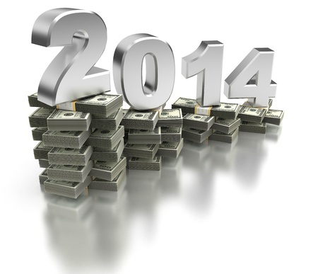 Bad Economy 2014 Stock Photo - 21393085