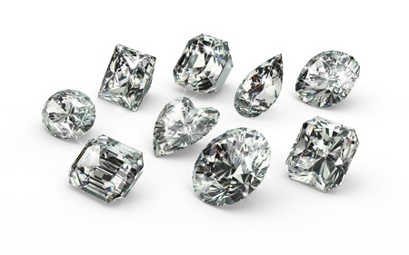 coeur diamant: Cuts Diamant
