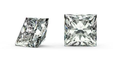 prinzessin: Princess Cut Diamant