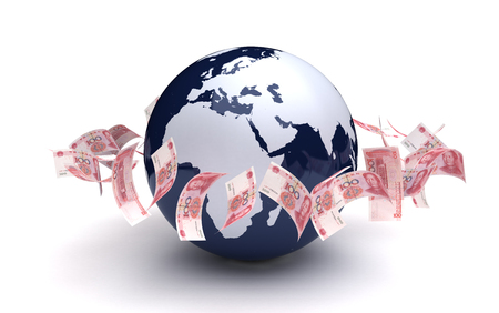 Global Business Yuan Currency photo