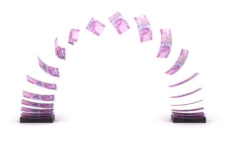 turkish lira: Turkish Lira Transfer  isolated