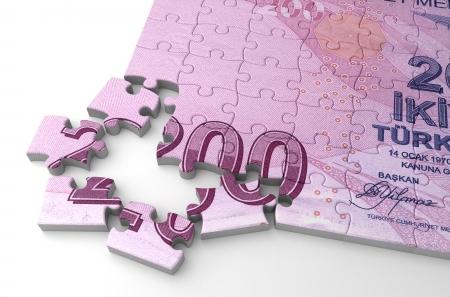turkish lira: Turkish Lira and Puzzle
