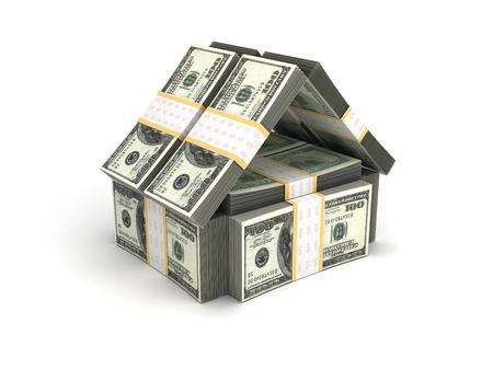 Real Estate Concept Dollar photo