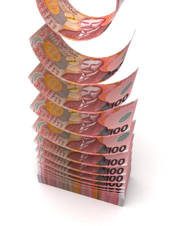 valuta: Repülő Új-zélandi dollár