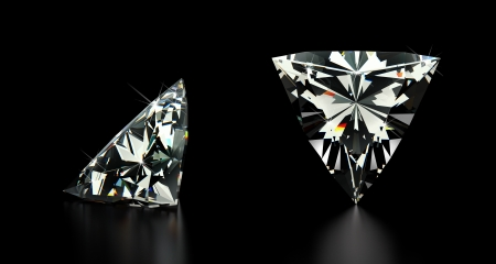 Trillion Cut Diamond