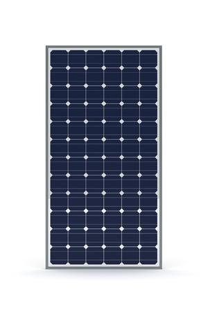 PLACAS SOLARES: Panel solar Foto de archivo