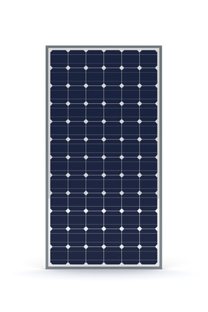 glass panel: Solar Panel Stock Photo