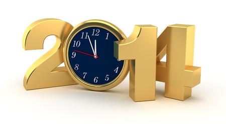New Year 2014 Standard-Bild