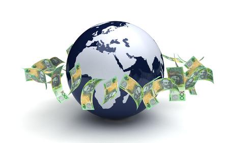 Global Business Australian Currency photo