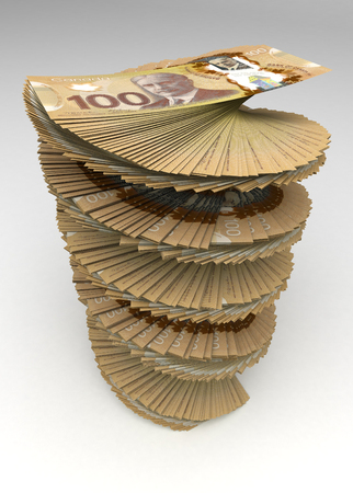 canadian currency: Canadian Dollar Tower