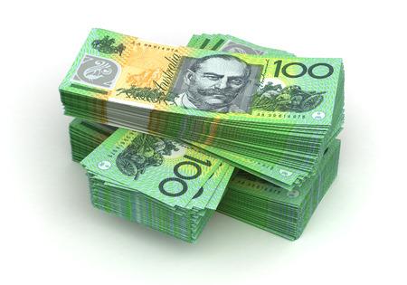 Stack of Australian Dollar 版權商用圖片 - 23411241
