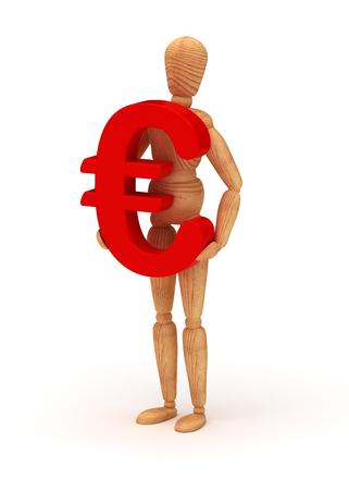Euro sign photo