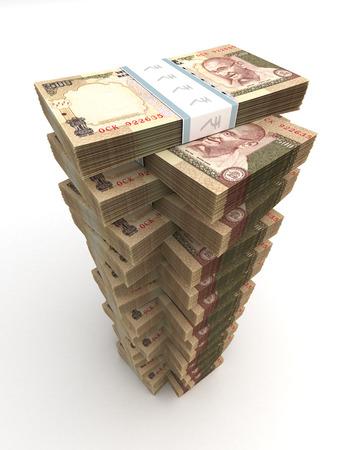 valuta: Tower indiai rúpia Stock fotó