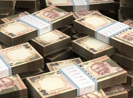 valuta: Köteg Indiai rúpia