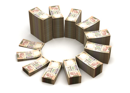 Indian Rupee Chart photo