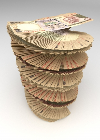 indian money: Indian Rupee Tower