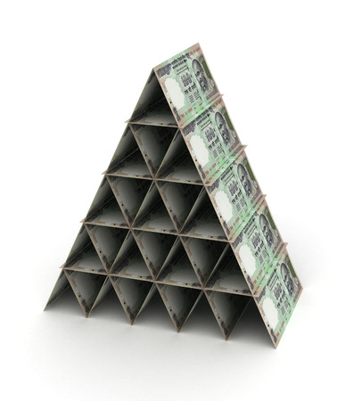 indian currency: Indian Rupee Pyramid