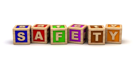 señales de seguridad: Seguridad cubos del juego