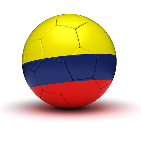 colombian: Colombian Football  isolated