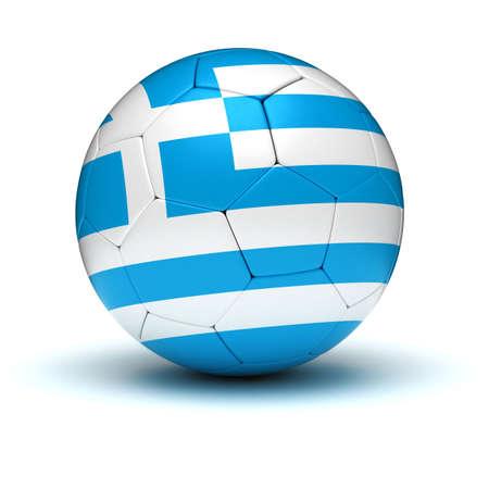 Greek Football  isolated photo