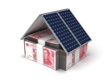 yuan: Energy Saving  Yuan  Stock Photo