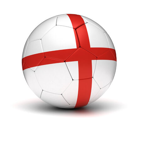 English Football  isolated with clipping path  photo