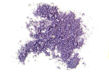 crushed by: Crushed Purple Eyeshadow Stock Photo