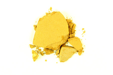 crushed by: Crushed Yellow Eyeshadow