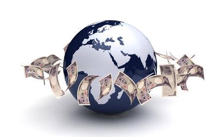 Global Business Japanese Yen photo