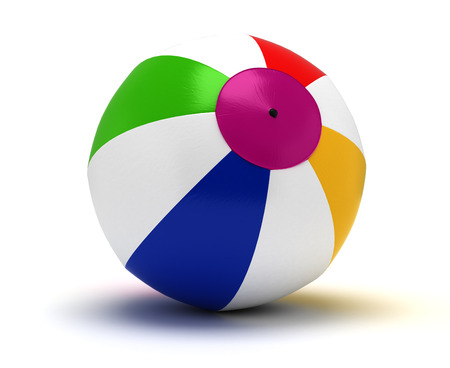 Single Beach Ball photo