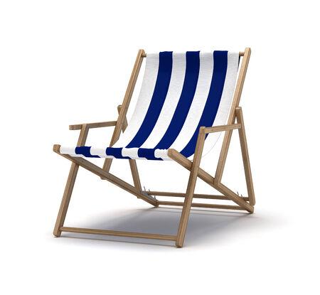 beach chair: Beach Chair Stock Photo
