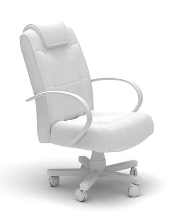 ejecutivo en oficina: Silla de oficina ejecutiva