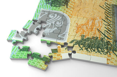 Australian Dollar Puzzle photo