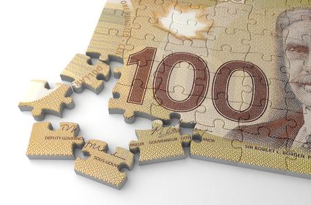 canadian currency: Canadian Dollar Puzzle