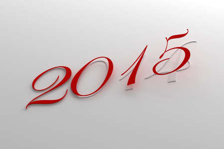 New Year 2015 and 2014 photo