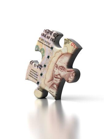 rupee: Single Indian Rupee Puzzle
