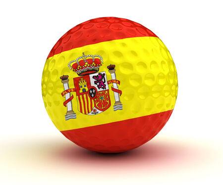 Spanish Golf Ball  photo
