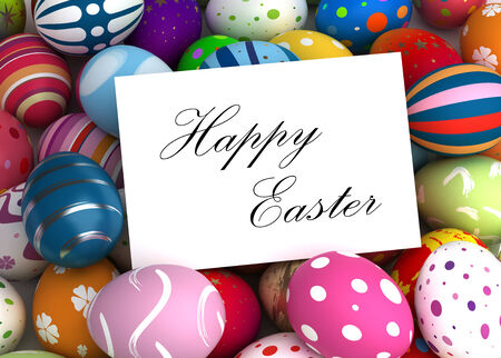 Happy Easter Message photo