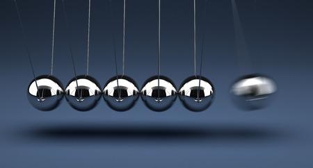 chrome ball: Newton